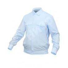 Рубашка Полиция светло-голубая с Д/Р на резинке